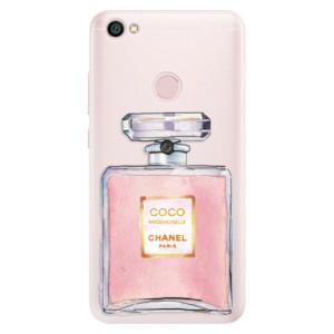 Silikonové pouzdro iSaprio (mléčně zakalené) Chanel Rose na mobil Xiaomi Redmi Note 5A / 5A Prime