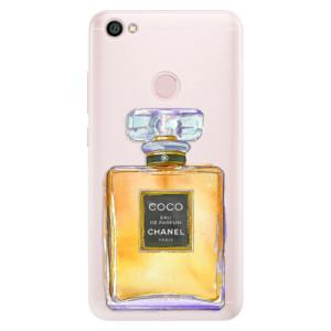 Silikonové pouzdro iSaprio (mléčně zakalené) Chanel Gold na mobil Xiaomi Redmi Note 5A / 5A Prime