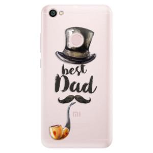 Silikonové pouzdro iSaprio (mléčně zakalené) Best Dad na mobil Xiaomi Redmi Note 5A / 5A Prime