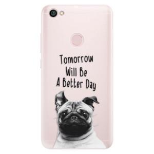 Silikonové pouzdro iSaprio (mléčně zakalené) Better Day 01 na mobil Xiaomi Redmi Note 5A / 5A Prime