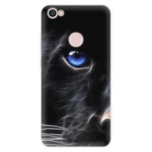 Silikonové pouzdro iSaprio (mléčně zakalené) Black Puma na mobil Xiaomi Redmi Note 5A / 5A Prime