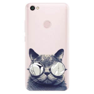 Silikonové pouzdro iSaprio (mléčně zakalené) Šílená Číča 01 na mobil Xiaomi Redmi Note 5A / 5A Prime