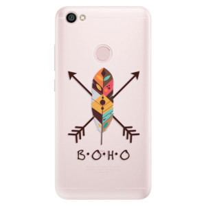 Silikonové pouzdro iSaprio (mléčně zakalené) BOHO na mobil Xiaomi Redmi Note 5A / 5A Prime
