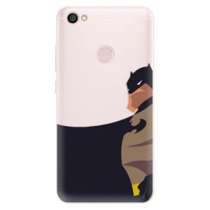 Silikonové pouzdro iSaprio (mléčně zakalené) BaT Komiks na mobil Xiaomi Redmi Note 5A / 5A Prime
