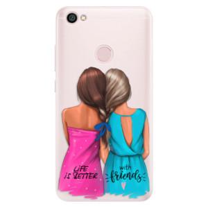 Silikonové pouzdro iSaprio (mléčně zakalené) Best Friends na mobil Xiaomi Redmi Note 5A / 5A Prime