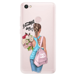 Silikonové pouzdro iSaprio (mléčně zakalené) Beautiful Day na mobil Xiaomi Redmi Note 5A / 5A Prime