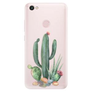 Silikonové pouzdro iSaprio (mléčně zakalené) Kaktusy 02 na mobil Xiaomi Redmi Note 5A / 5A Prime