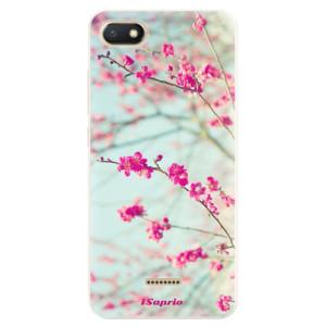 Silikonové pouzdro iSaprio (mléčně zakalené) Blossom 01 na mobil Xiaomi Redmi 6A