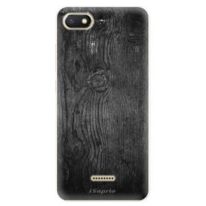 Silikonové pouzdro iSaprio (mléčně zakalené) Black Wood 13 na mobil Xiaomi Redmi 6A