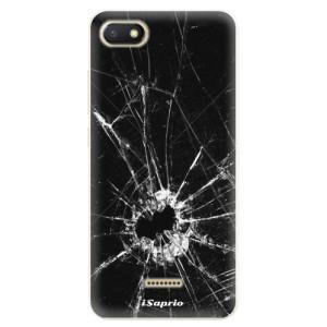 Silikonové pouzdro iSaprio (mléčně zakalené) Broken Glass 10 na mobil Xiaomi Redmi 6A