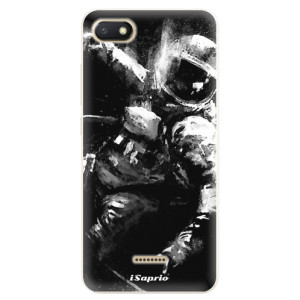 Silikonové pouzdro iSaprio (mléčně zakalené) Astronaut 02 na mobil Xiaomi Redmi 6A