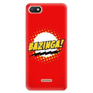 Silikonové pouzdro iSaprio (mléčně zakalené) Bazinga 01 na mobil Xiaomi Redmi 6A