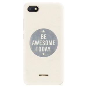 Silikonové pouzdro iSaprio (mléčně zakalené) Awesome 02 na mobil Xiaomi Redmi 6A