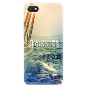 Silikonové pouzdro iSaprio (mléčně zakalené) Beginning na mobil Xiaomi Redmi 6A