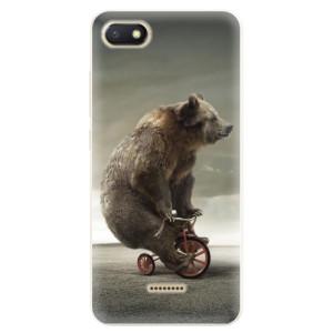 Silikonové pouzdro iSaprio (mléčně zakalené) Medvěd 01 na mobil Xiaomi Redmi 6A