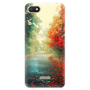 Silikonové pouzdro iSaprio (mléčně zakalené) Podzim 03 na mobil Xiaomi Redmi 6A