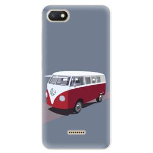 Silikonové pouzdro iSaprio (mléčně zakalené) VW Bus na mobil Xiaomi Redmi 6A