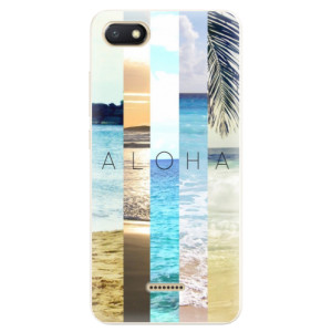 Silikonové pouzdro iSaprio (mléčně zakalené) Aloha 02 na mobil Xiaomi Redmi 6A