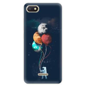Silikonové pouzdro iSaprio (mléčně zakalené) Balónky 02 na mobil Xiaomi Redmi 6A