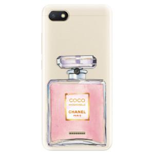 Silikonové pouzdro iSaprio (mléčně zakalené) Chanel Rose na mobil Xiaomi Redmi 6A