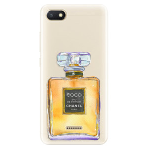 Silikonové pouzdro iSaprio (mléčně zakalené) Chanel Gold na mobil Xiaomi Redmi 6A