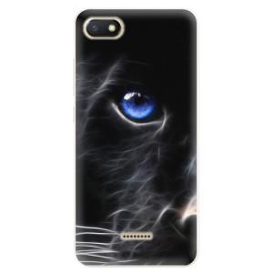Silikonové pouzdro iSaprio (mléčně zakalené) Black Puma na mobil Xiaomi Redmi 6A