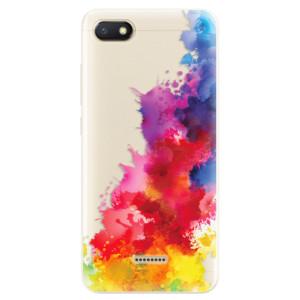 Silikonové pouzdro iSaprio (mléčně zakalené) Color Splash 01 na mobil Xiaomi Redmi 6A