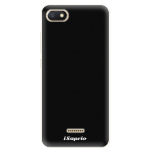Silikonové pouzdro iSaprio 4Pure černé na mobil Xiaomi Redmi 6A