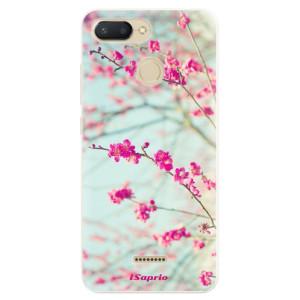 Silikonové pouzdro iSaprio (mléčně zakalené) Blossom 01 na mobil Xiaomi Redmi 6