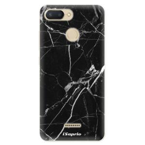 Silikonové pouzdro iSaprio (mléčně zakalené) Black Marble 18 na mobil Xiaomi Redmi 6