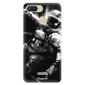 Silikonové pouzdro iSaprio (mléčně zakalené) Astronaut 02 na mobil Xiaomi Redmi 6