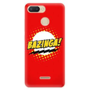 Silikonové pouzdro iSaprio (mléčně zakalené) Bazinga 01 na mobil Xiaomi Redmi 6