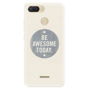 Silikonové pouzdro iSaprio (mléčně zakalené) Awesome 02 na mobil Xiaomi Redmi 6