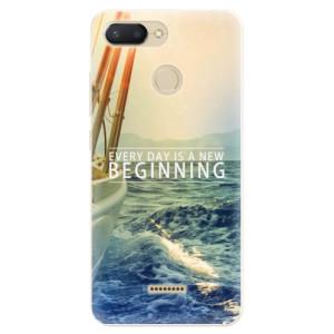 Silikonové pouzdro iSaprio (mléčně zakalené) Beginning na mobil Xiaomi Redmi 6