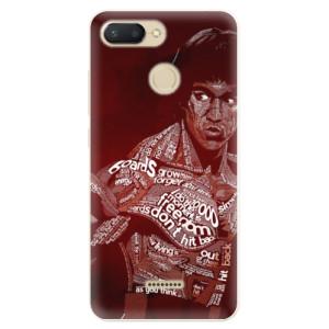 Silikonové pouzdro iSaprio (mléčně zakalené) Bruce Lee na mobil Xiaomi Redmi 6