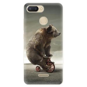 Silikonové pouzdro iSaprio (mléčně zakalené) Medvěd 01 na mobil Xiaomi Redmi 6