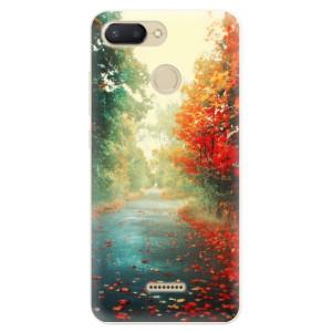 Silikonové pouzdro iSaprio (mléčně zakalené) Podzim 03 na mobil Xiaomi Redmi 6