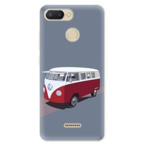 Silikonové pouzdro iSaprio (mléčně zakalené) VW Bus na mobil Xiaomi Redmi 6