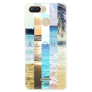 Silikonové pouzdro iSaprio (mléčně zakalené) Aloha 02 na mobil Xiaomi Redmi 6