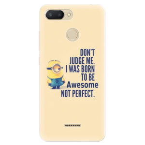 Silikonové pouzdro iSaprio (mléčně zakalené) Be Awesome na mobil Xiaomi Redmi 6