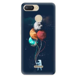 Silikonové pouzdro iSaprio (mléčně zakalené) Balónky 02 na mobil Xiaomi Redmi 6