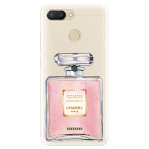 Silikonové pouzdro iSaprio (mléčně zakalené) Chanel Rose na mobil Xiaomi Redmi 6