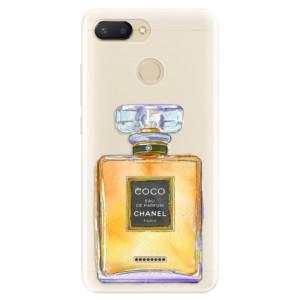 Silikonové pouzdro iSaprio (mléčně zakalené) Chanel Gold na mobil Xiaomi Redmi 6