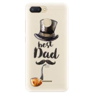 Silikonové pouzdro iSaprio (mléčně zakalené) Best Dad na mobil Xiaomi Redmi 6