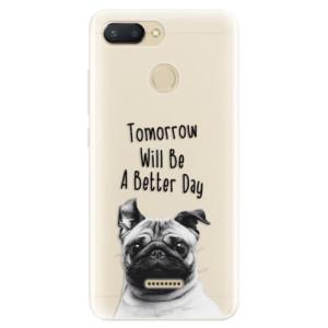 Silikonové pouzdro iSaprio (mléčně zakalené) Better Day 01 na mobil Xiaomi Redmi 6