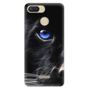 Silikonové pouzdro iSaprio (mléčně zakalené) Black Puma na mobil Xiaomi Redmi 6