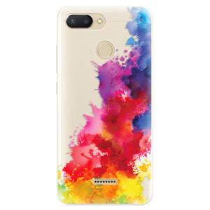 Silikonové pouzdro iSaprio (mléčně zakalené) Color Splash 01 na mobil Xiaomi Redmi 6
