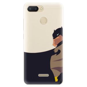 Silikonové pouzdro iSaprio (mléčně zakalené) BaT Komiks na mobil Xiaomi Redmi 6