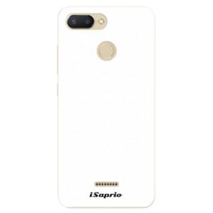 Silikonové pouzdro iSaprio 4Pure bílé na mobil Xiaomi Redmi 6