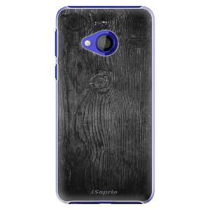 Plastové pouzdro iSaprio Black Wood 13 na mobil HTC U Play